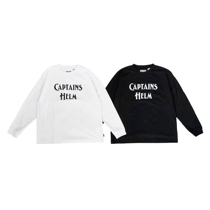 CAPTAINS HELM BACTERIA - PROOF LOGO L/S TEE