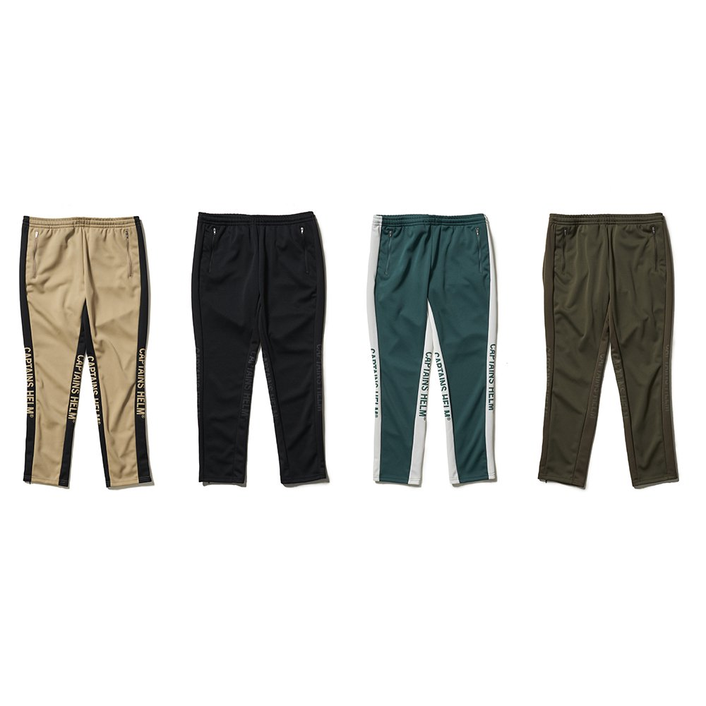 CAPTAINS HELM SIDE MESH TRACK PANTS