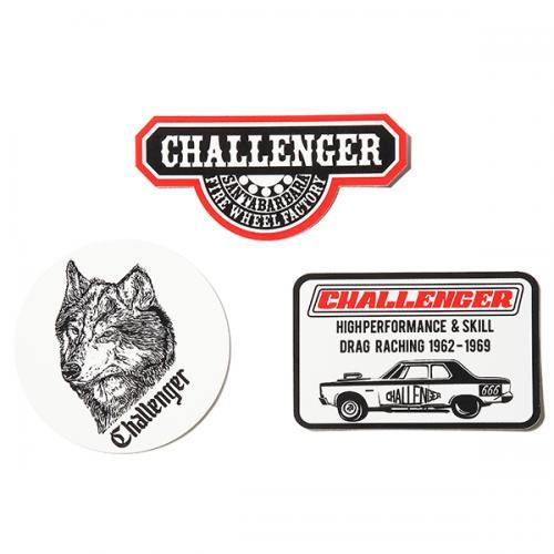 CHALLENGER CHALLENGE STICKERS
