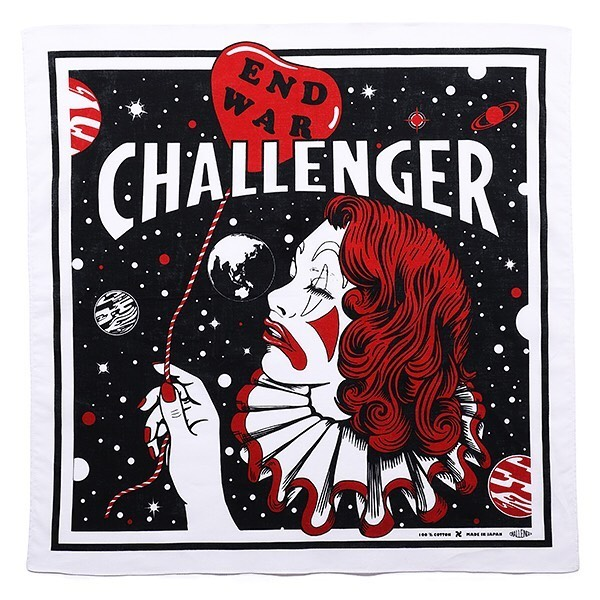 CHALLENGER END WAR BANDANA