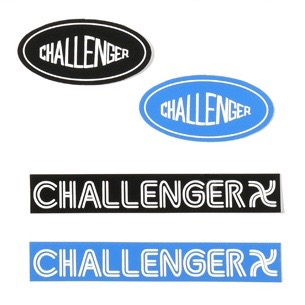 CHALLENGER SILKSCREEN STICKER BIG BOX LOGO