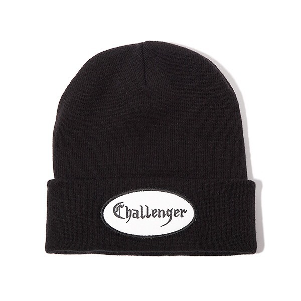 CHALLENGER PATCH KNIT CAP