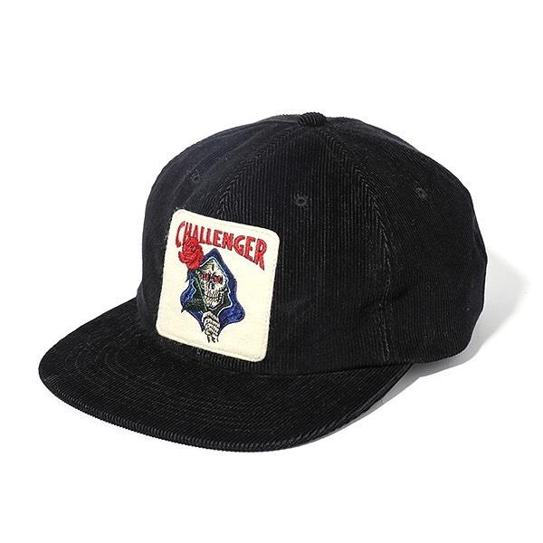 CHALLENGER SPADE SKULL CORDUROY CAP