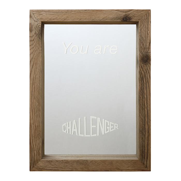 CHALLENGER PRINTED MIRROR
