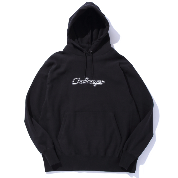 CHALLENGER LOGO EMBROIDERED HOODIE