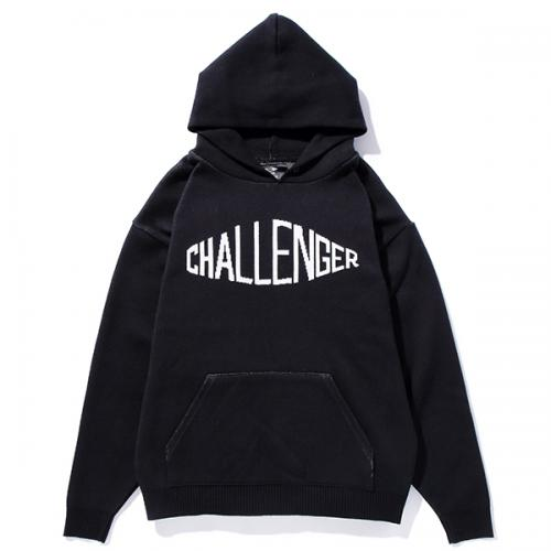 CHALLENGER COTTON LOGO SWEATER