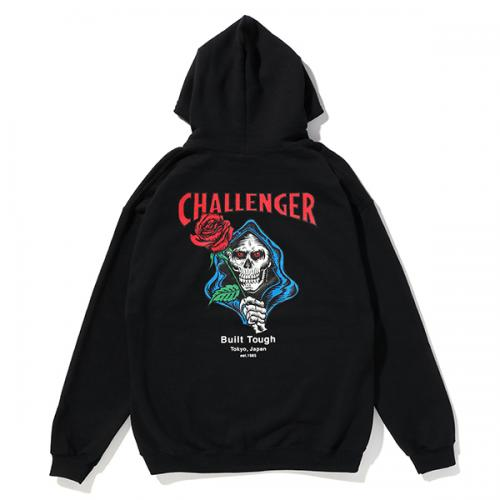 CHALLENGER SPADE SKULL HOODIE