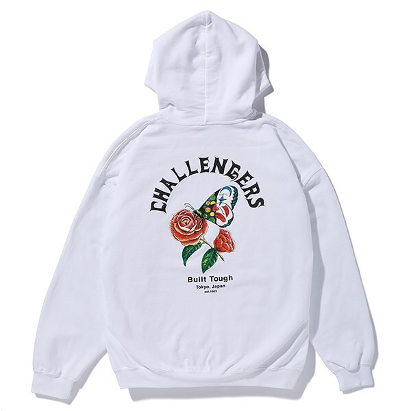 CHALLENGER CHALLENGERS BUTTERFLY HOODIE