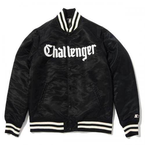 CHALLENGER STARTER BLACK LABEL NYLON STADIUM JACKET