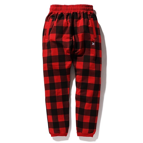 CHALLENGER BUFFALO CHECK SWEAT PANTS