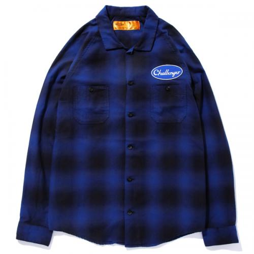 CHALLENGER L/S CHECK WORK SHIRT