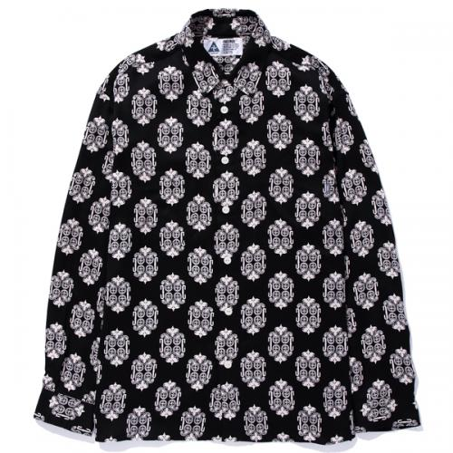 CHALLENGER L/S RAYON MULTI PRINTED SHIRT