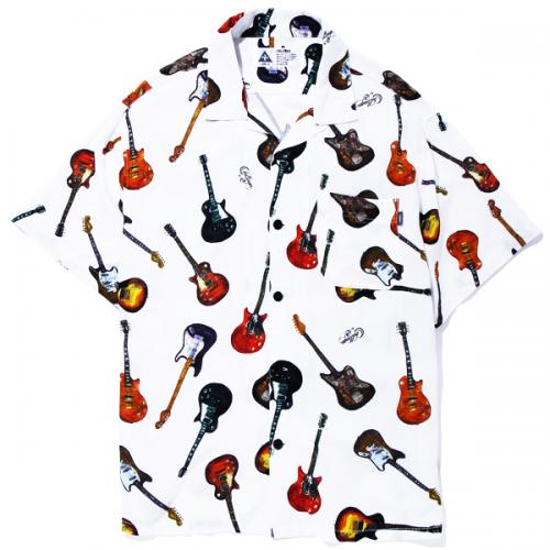 CHALLENGER S/S RAYON FULL COLOR GUITAR SHIRT