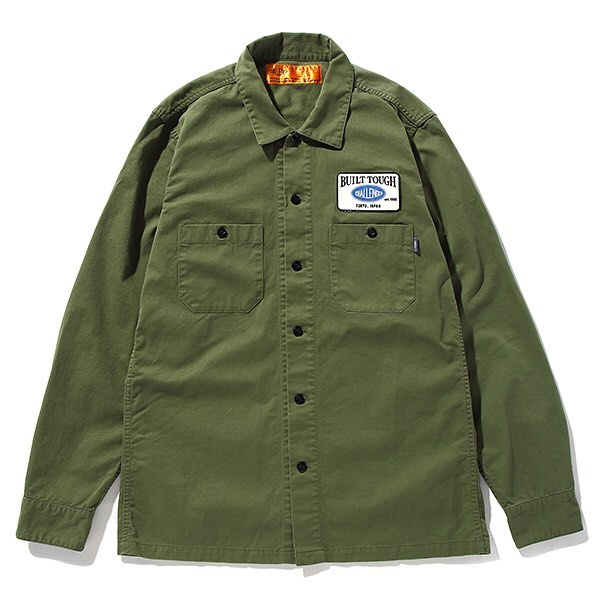 【CHALLENGER】L/S PATCH WORK SHIRT