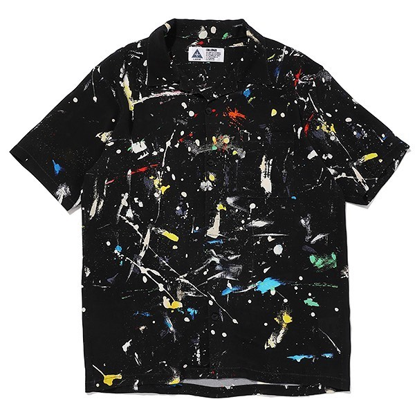 CHALLENGER S/S PAINTED SHIRT