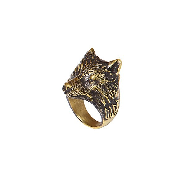 CHALLENGER WOLF RING