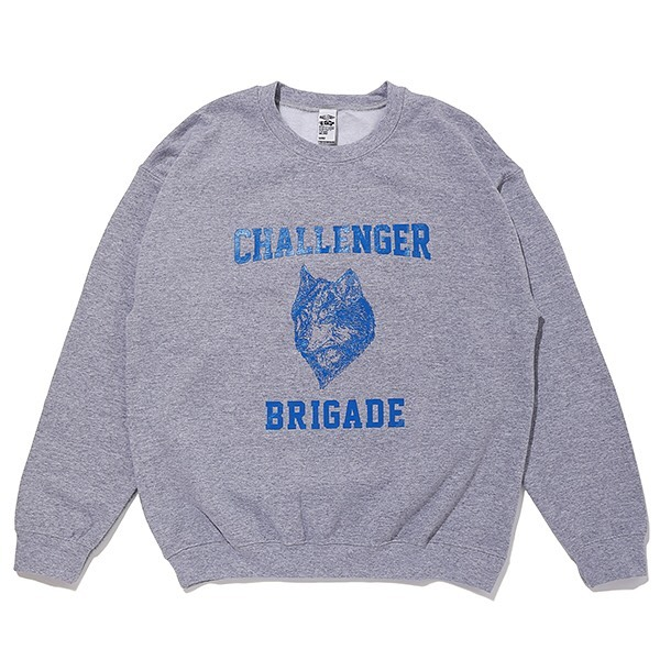 CHALLENGER WOLF COLLEGE C/N SWEAT