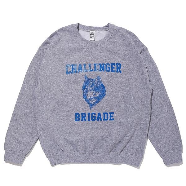 CHALLENGER WOLF COLLEGE C/N SWEAT