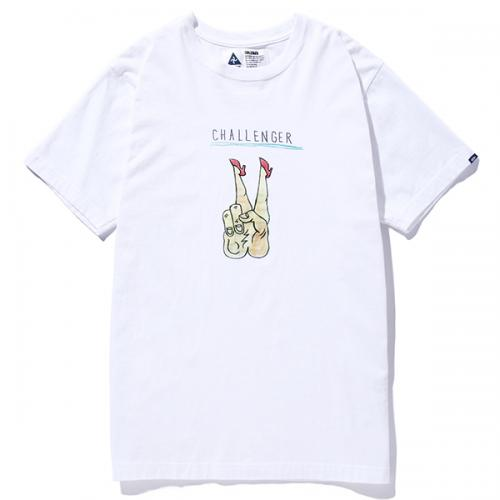 CHALLENGER HOT PEACE TEE