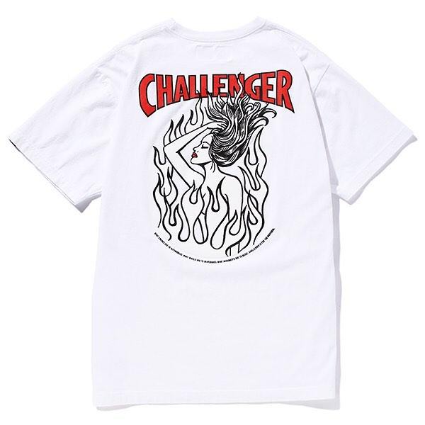 CHALLENGER FIRE LADY TEE