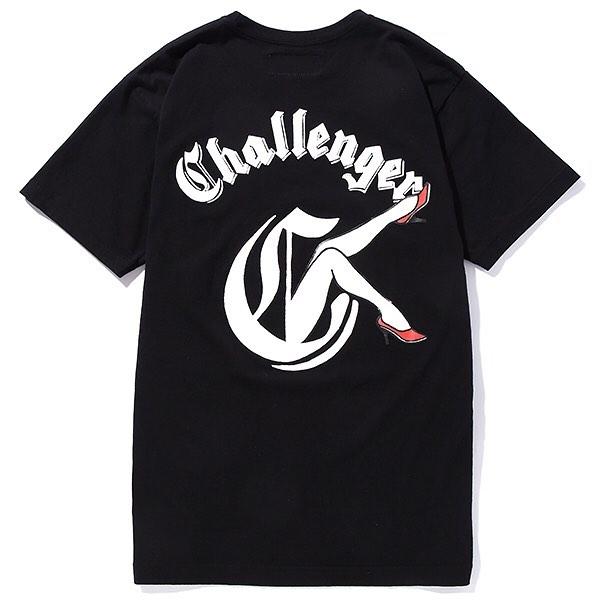 CHALLENGER RED HEELS TEE
