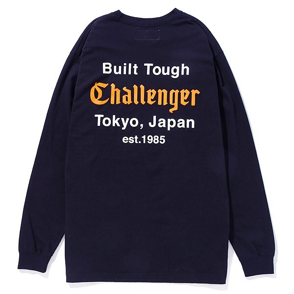 【CHALLENGER】L/S BUILT TOUGH TEE