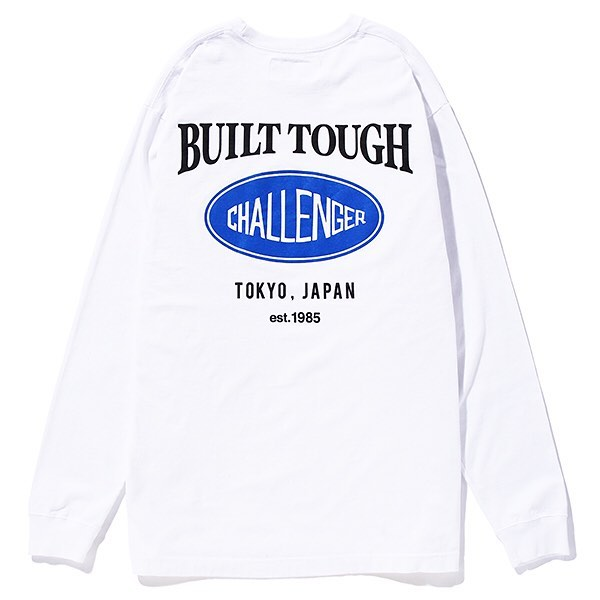 CHALLENGER L/S OVAL LOGO TEE