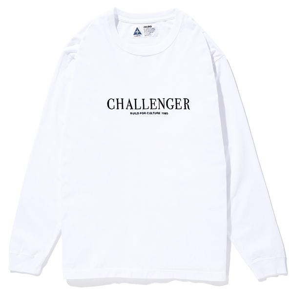 CHALLENGER L/S LOGO TEE