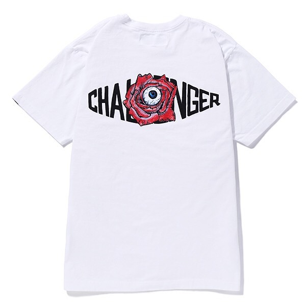 CHALLENGER 10TH ROSE LOGO TEE