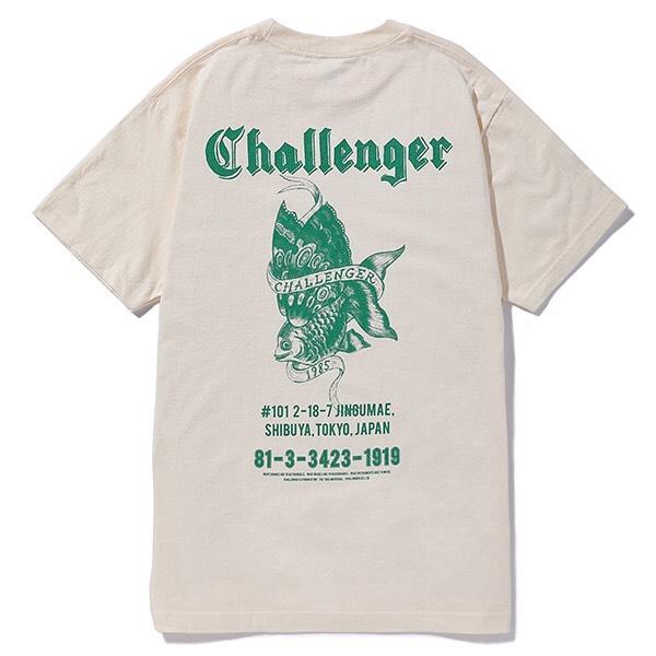 CHALLENGER GOLD FISH TEE