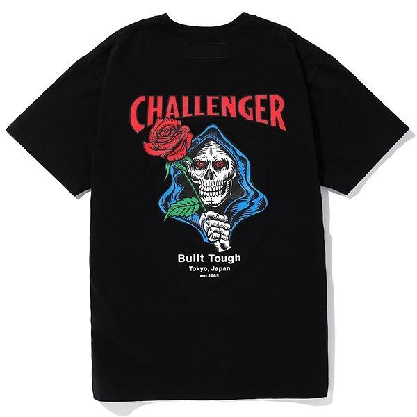CHALLENGER SPADE SKULL TEE