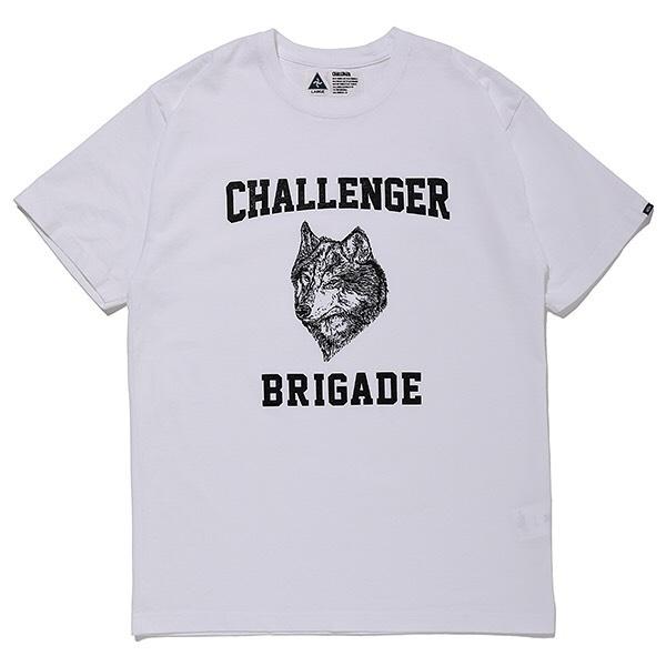 CHALLENGER WOLF COLLEGE TEE