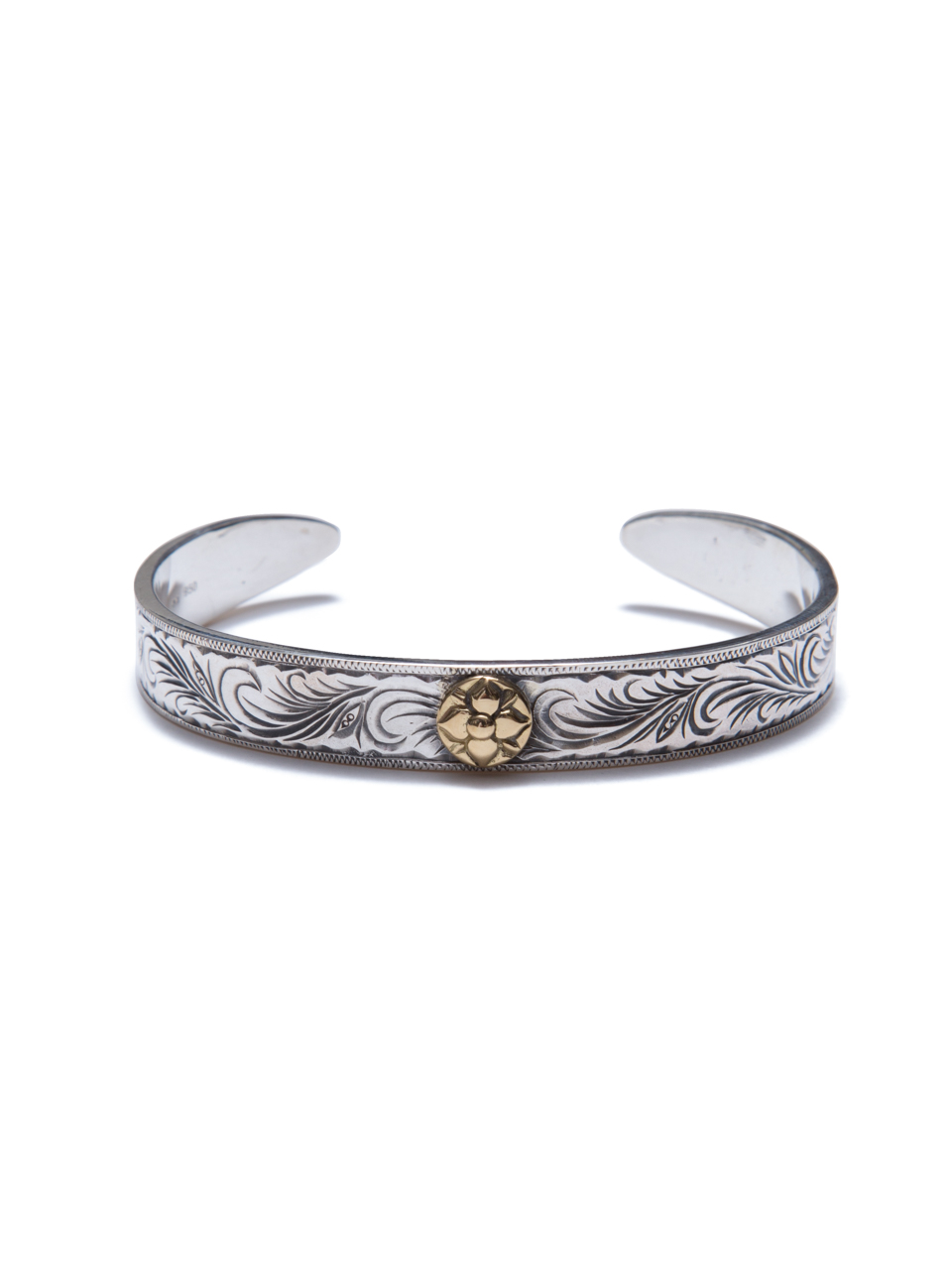 ANTIDOTE BUYERS CLUB Engraved Rose Bangle