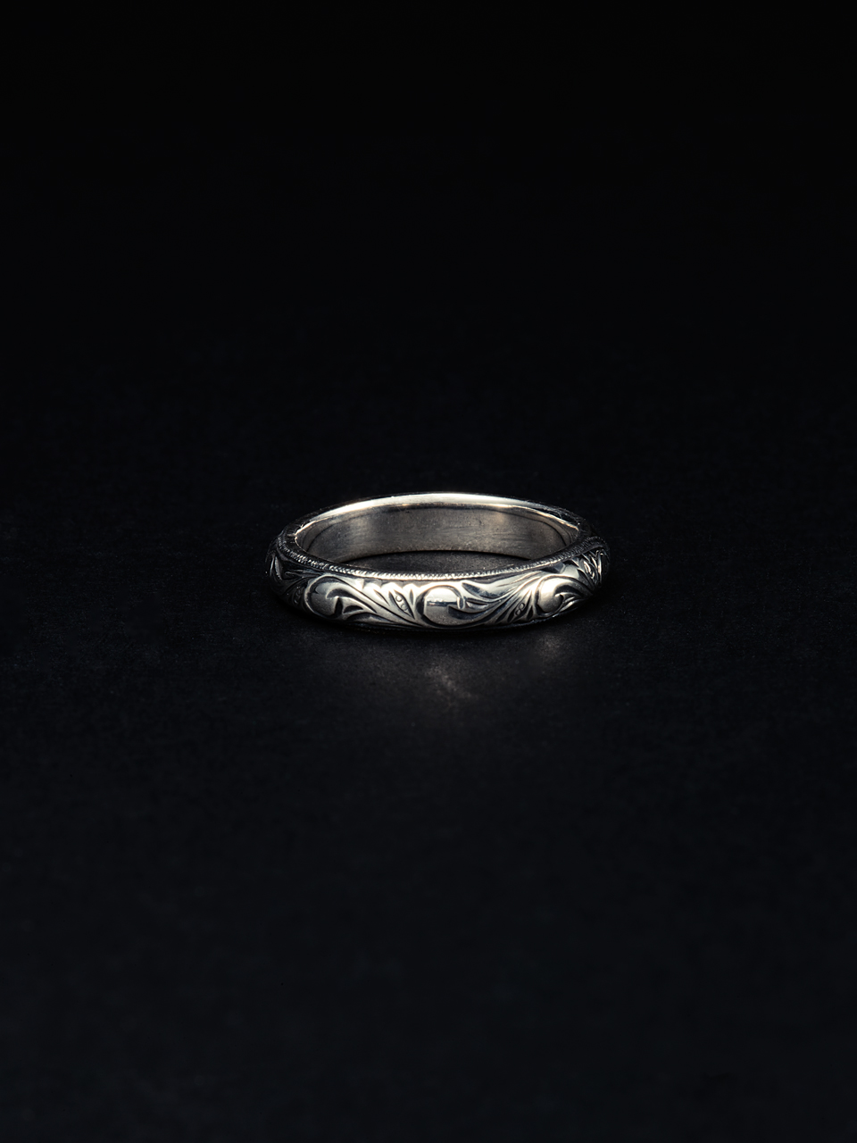 ANTIDOTE BUYERS CLUB Engraved Pinky Ring