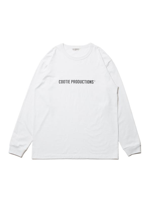COOTIE Print L/S Tee (COOTIE LOGO)