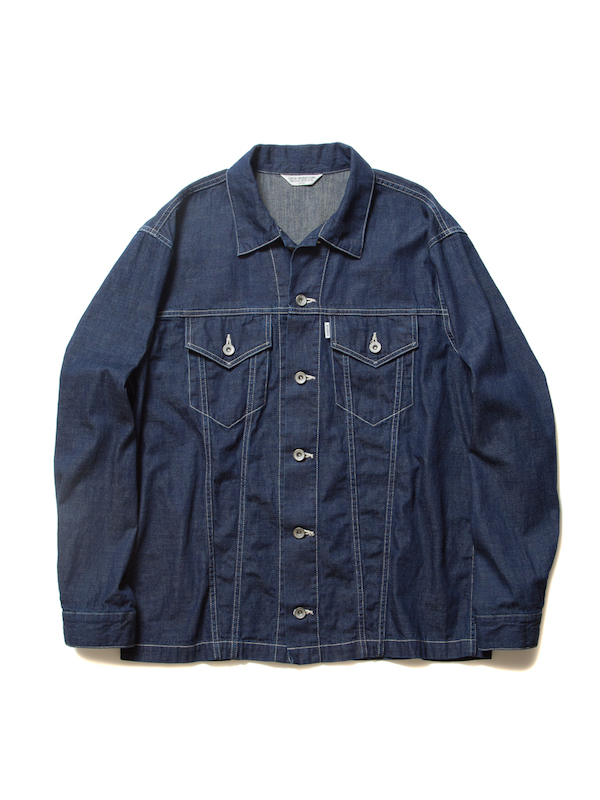 COOTIE Trucker Denim Jacket (1Wash)