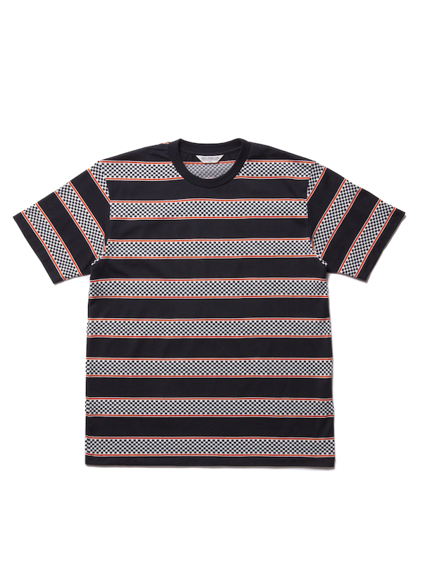 COOTIE Checkered Border S/S Tee
