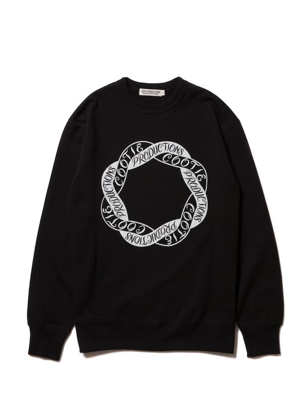 COOTIE Print Crewneck L/S Sweatshirt