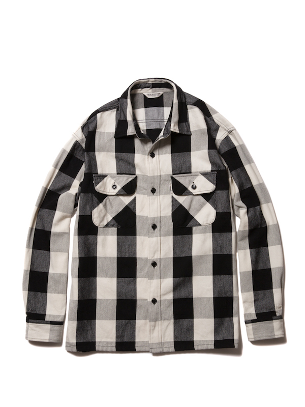 COOTIE Buffalo Check L/S Shirt