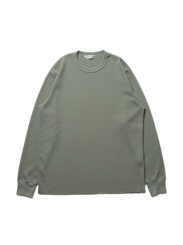 COOTIE Waffle Thermal L/S Tee