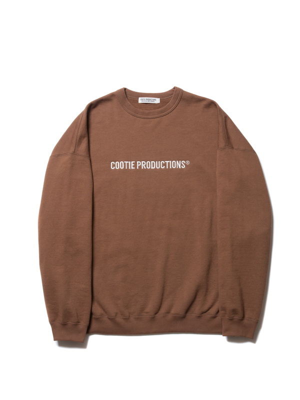 COOTIE LOGO Embroidery Crewneck Sweatshirt