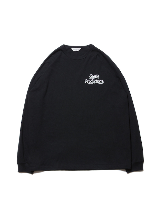 COOTIE Print L/S Tee (LETTERED LOGO)