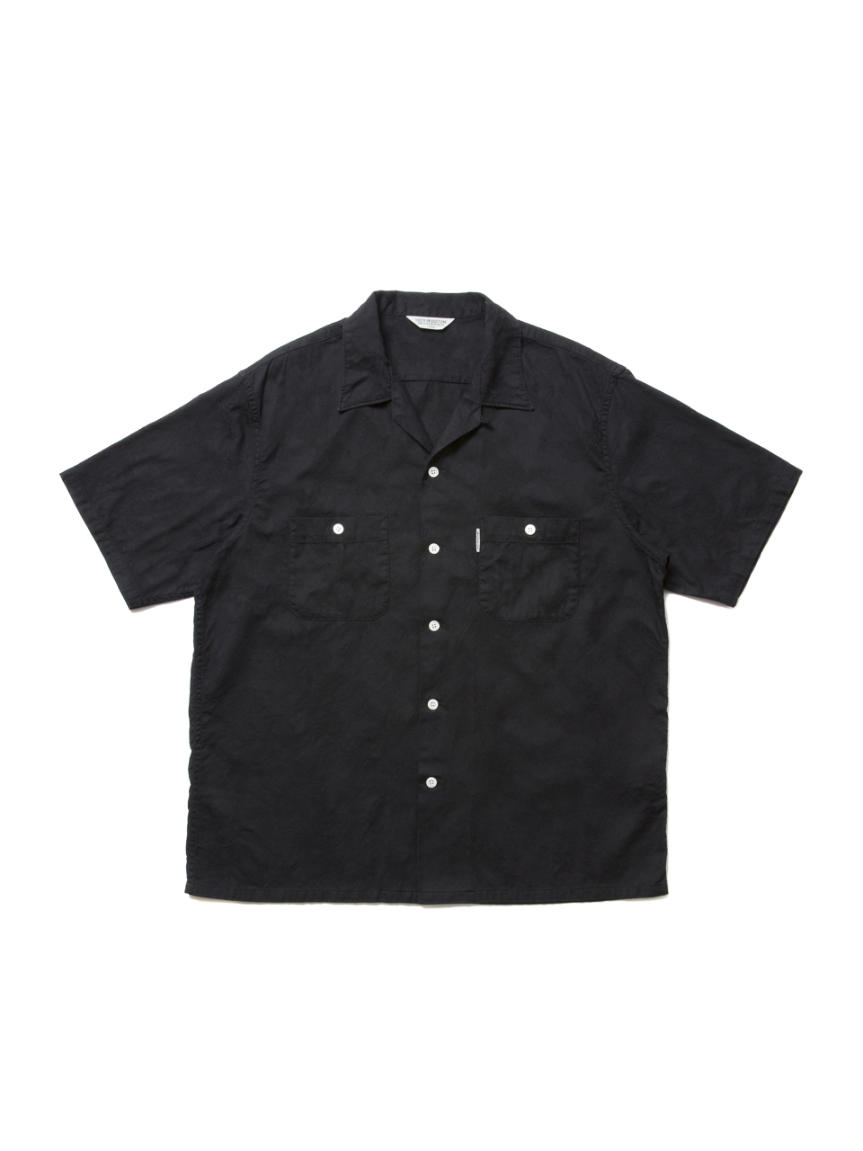 COOTIE Paisley Open-Neck S/S Shirt