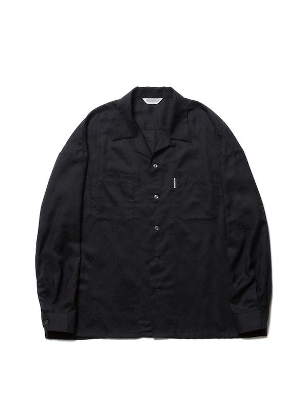 COOTIE Bandana Jacquard Open-Neck L/S Shirt