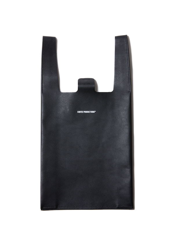 COOTIE Leather C-Store Bag (Large)