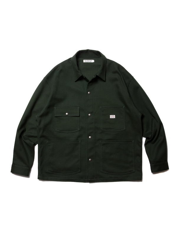 COOTIE Cotton Kersey Short Coverall
