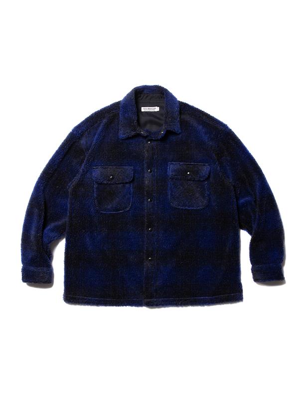COOTIE Ombre Boa Check CPO Jacket