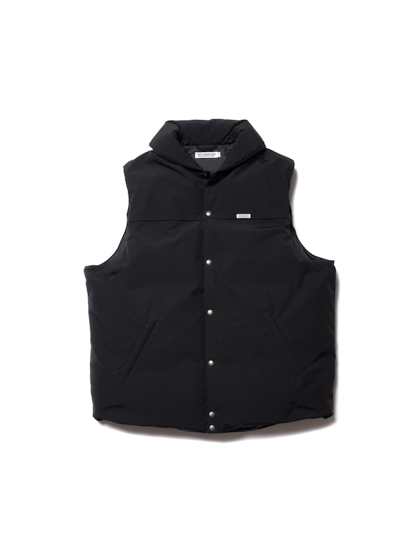 COOTIE Weather Cloth Oversized Down Vest