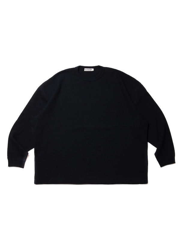 COOTIE Heavy Waffle L/S Tee