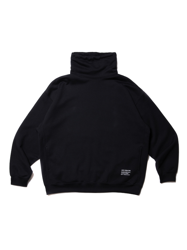 COOTIE Compact Yarn Neck Warmer Sweatshirt